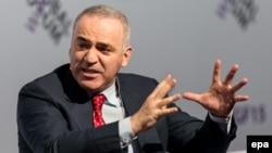 Гарри Каспаров на форуме во Вроцлаве