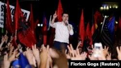Лидерот на Демократската партија на Албанија, Љуљзим Баша.