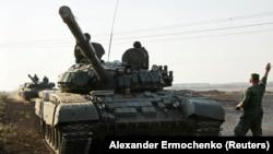 Танк Т-72 угруповання «ДНР»