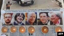 Загиблі карикатуристи Charlie Hebdo