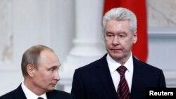 В.В. Путин и С.С. Собянин