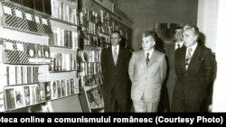 """Inaugurarea """"Expoziţiei de carte şi mijloace de informare şi educare a oamenilor muncii"""", organizată la Sala Dalles din Capitală.(13.V.1978) Fototeca online a comunismului românesc;cota:153/1978"""