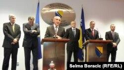 Dragan Čović, Milorad Dodik, Sulejman Tihić, Božo Ljubić, Zlatko Lagumdžija i Fahrudin Radončić