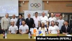 Olimpijski tim BiH, 20. jul 2012.