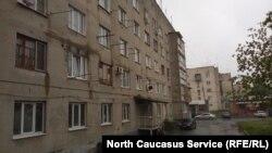 Многоквартирный дом во Владикавказе