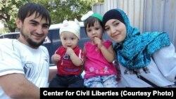 Рустем Исмаилов с семьей