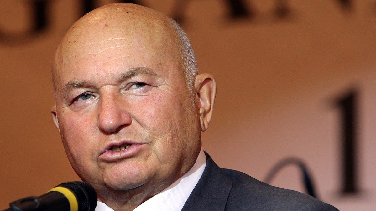Yury Luzhkov Ex Mayor Who Dominated Moscow For Nearly Two Decades Is Dead At 83