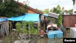 Затоплен поселок Менделеева на окраине Комсомольска-на-Амуре