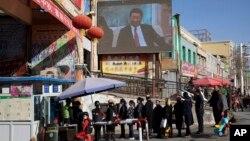 Шинжаң-уйгур автоном районунун чыгышындагы Хотан шаары.