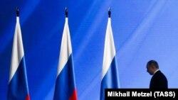 Бул Владимир Путиндин президент катары Федерация Кеңешиндеги 16-кайрылуусу.
