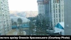 Ukraine -- Olimpic city, 09Feb2018
