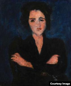 """""""Ева"""" Хаима Сутина, 1928"""