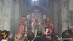 Armenian Christians Hold Service In Turkey