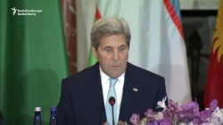 Kerry Backs New Projects In Talks With Central Asian Ministers
