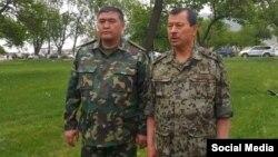 Саймумин Ятимов (справа) и Камчыбек Ташиев