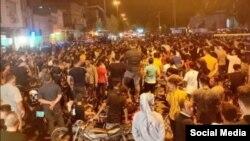 اعتراضها در ایالت خوزستان ایران