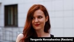 Речниця Олексія Навального Кіра Ярмиш, Москва, 16 серпня 2021 року