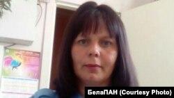 Вольга Шукаловіч, якой прысудзілі 1,5 года «хатняй хіміі» за камэнтар пра міліцыянта