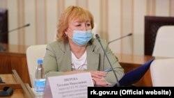 Директор Центра оперативного реагирования при российском правительстве Крыма Татьяна Зверева