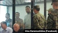 Канат Сагынбаев в зале суда. 16 сентября 2020 года.