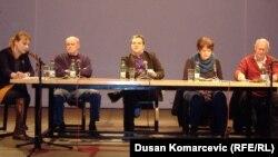 Irena Javorski, Čedomir Petrović, Dejan Vuk Stanković, Vesna Rakić Vodinelić i Aleksandar Kraus
