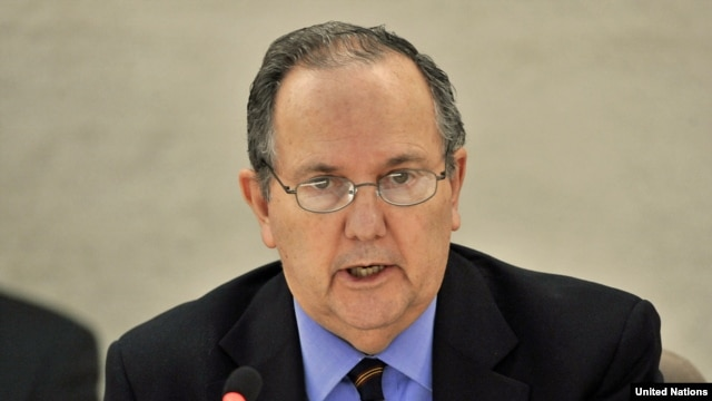Juan Mendez, the UN's special rapporteur on torture