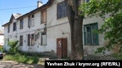 Один из домов под снос на улице Паршина в Севастополе