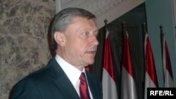 Бордюжа во время визита в Душанбе, 2009 год