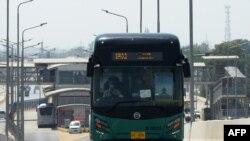 Илустрација - Автобус во Пакистан