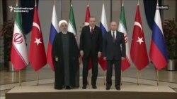 Putin și Rohani discută despre Siria cu Erdogan la Ankara