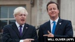 Britanski premijer Dejvid Kameron i gradonačelnik Londona Boris Džonson