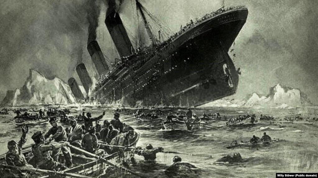 """Картинки по запросу Когда затонул """"Титаник"""", среди спасшихся пассажиров первого класса было практически 100% женщин и детей."""