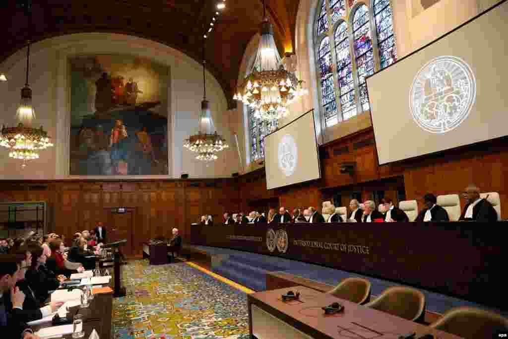 Розгляд позову України проти Росії у Міжнародному суді ООН. Гаага, 6 березня 2017 року БІЛЬШЕ ПРО ЦЕ