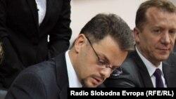 Архивска фотографија-Министерот за финансии Зоран Ставрески потпишува договор за заем со Светската банка