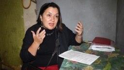 Tatarstan -- Dilyara Gaysina, Kazan activist, Kazan, undated