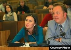 Парламент хәбәрчеләре Лилия Галимова һәм Дмитрий Второв