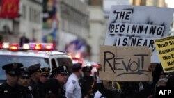 "Protest ""Okupirajmo Volstrit"", Njujork, 15. oktobar 2011."