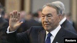 Нурсултан Назарбаев, президент Казахстана. Астана, 30 ноября 2015 года.
