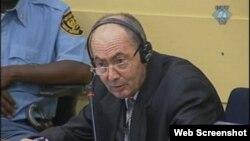 Zdravko Tolimir na suđenju u Hagu, 23. kolovoz 2012.