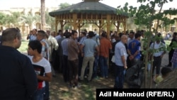 فعالية ثقافية في مكان عام ببغداد