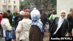 """Самарның """"Яктылык"""" татар мәктәбе укучылары"""