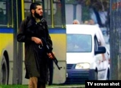 Bosnian officials identified the shooter as Mevlid Jasarevic, a Wahhabi follower from the city of Novi Pazar in southwestern Serbia.