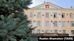 Здание подконтрольной России прокуратуры Крыма в Симферополе