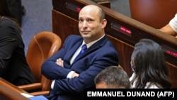 Naftali Benet na specijalnom zasedanju Kneseta za glasanje o novoj vladi, Jerusalim, 13. jun 2021.