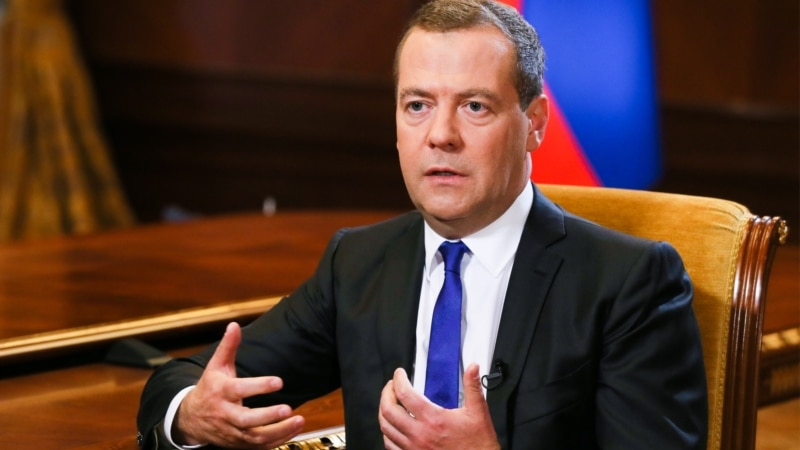 Medvedev Warns That U.S. Sanctions Banning Banks, Currency Use Would Be 'Economic War'