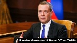 Orsýetiň premýer-ministri Dmitriý Medwedew