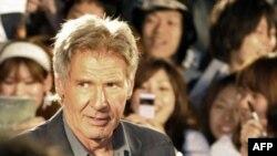هریسون فورد در فیلم «ایر فورس وان» نقش یک رئیس جمهوری تسلیم ناپذیر را به نمایش میگذارد.(عکس: AFP)