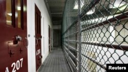 The interior of a communal cellblock in Camp VI, a prison used to house detainees at the U.S. Naval Base at Guantanamo Bay (file photo)