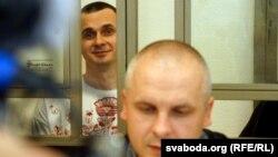 Адвокат Дмитро Дінзе в суді над Олегом Сенцовим