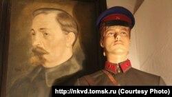 Часть экспозиции музея НКВД